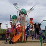 みよし運動公園のあそびの王国で2歳3歳の子供が遊んだ遊具/アクセスや駐車場など