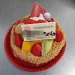 ケー・サヴール(安佐南区)のバースデイ用と季節のタルトケーキの中身や値段比べ